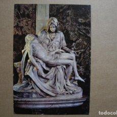 Postales: LA PIEDAD DE MIGUEL ANGEL. BASILICA DE SAN PEDRO. ROMA. ED. OTO N. 304 NUEVA. Lote 150481522