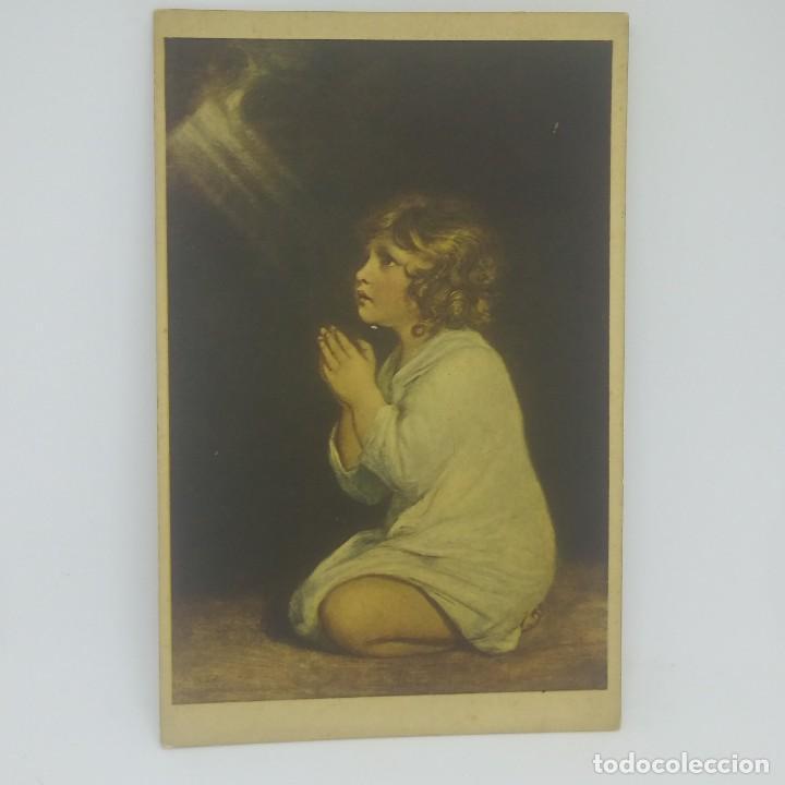 Postales: Il piccolo Samuele. Reynolds. Museo del Louvre. París - Foto 2 - 147863382