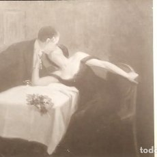 Postales: SALON 1914 SAM GRUN LE BAISER THE KISS 2798 PARIS. Lote 148007174