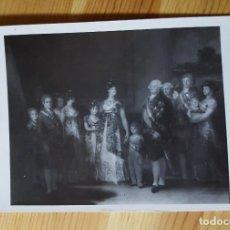 Postales: GOYA LA FAMILIA DE CARLOS IV MUSEO DEL PRADO 1954. Lote 150788410