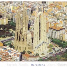 Postales: POSTAL SAGRADA FAMILIA (BARCELONA) ANTONI GAUDÍ - TRIANGLE 328.3 - SIN CIRCULAR. Lote 151254710