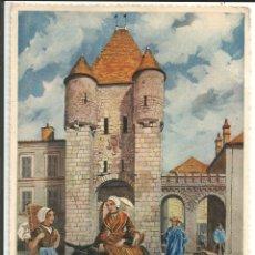 Postales: POSTAL L'ILE-DE-FRANCE*, MORET-SUR-LOING, PORTE DE SAMOIS - ED. GABY - ILUSTRA HOMUALK. Lote 151353618