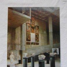 Postales: MUSEO DE GRANOLLERS. SALA 1. ESCUDO DE ORO. FISA. SIN CIRCULAR. Lote 151565166