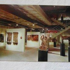 Postales: MUSEO DE GRANOLLERS. SALA II. ESCUDO DE ORO. FISA. SIN CIRCULAR. Lote 151565230