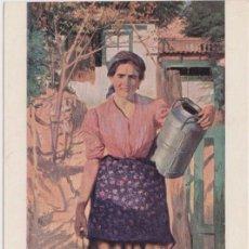 Postales: POSTAL OBRA DE FRANCESC SARDÀ LADICO, LA LECHERA - EDICIONES THOMAS - S/C. Lote 151652634