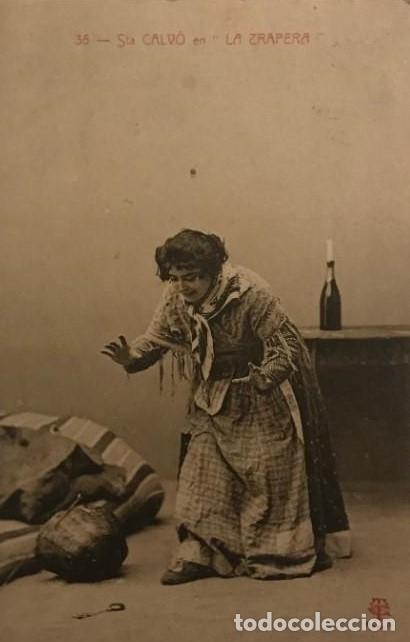 1906 STA CALVÓ EN LA TRAPERA. CIRCULADA (Postales - Postales Temáticas - Arte)