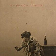 Postales: 1906 STA CALVÓ EN LA TRAPERA. CIRCULADA. Lote 149273590
