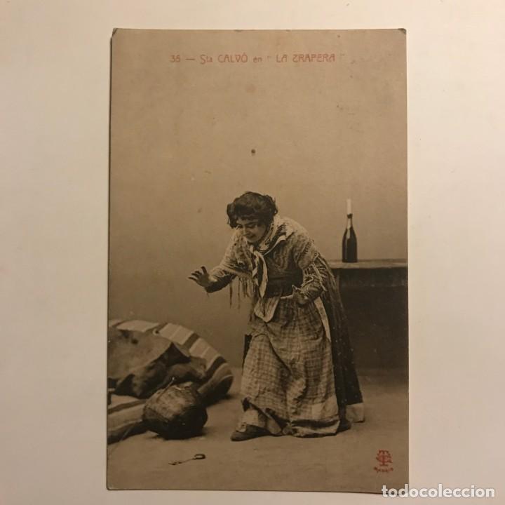 Postales: 1906 Sta Calvó en La trapera. Circulada - Foto 2 - 149273590