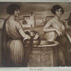 Postales: EN EL POZO. POSTAL. OBRA DE JULIO ROMERO DE TORRES (CÓRDOBA 1874-1930). Lote 140879418