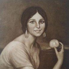Postales: ANGELITA BRETÓN. POSTAL. OBRA DE JULIO ROMERO DE TORRES (CÓRDOBA 1874-1930). Lote 140879986