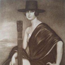Postales: DORA LA CORDOBESITA. POSTAL. OBRA DE JULIO ROMERO DE TORRES (CÓRDOBA 1874-1930). Lote 140880730