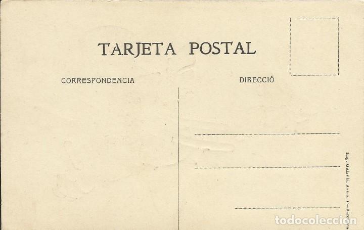 Postales: Gaietà Cornet. Dibujo Niño con escalera y bota. Imp. Galve. Buen estado. Sin circular. Cu-cut. - Foto 2 - 151522654