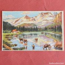 Postales: PAISAJE - FIRMADO WOLFU - EDICIONES COLON - SERIE 133/3 - ESCRITA. Lote 153220330