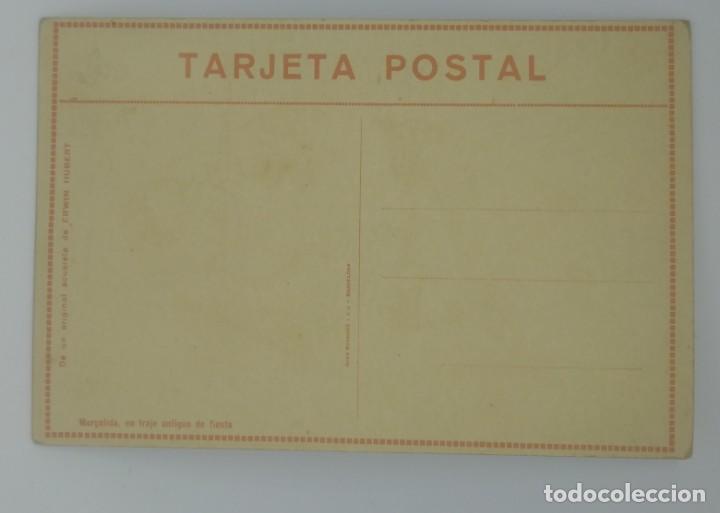 Postales: Erwin Hubert. Margalida, en traje antiguo de fiesta. Postal reproducción del original en acuarela. - Foto 3 - 154137946