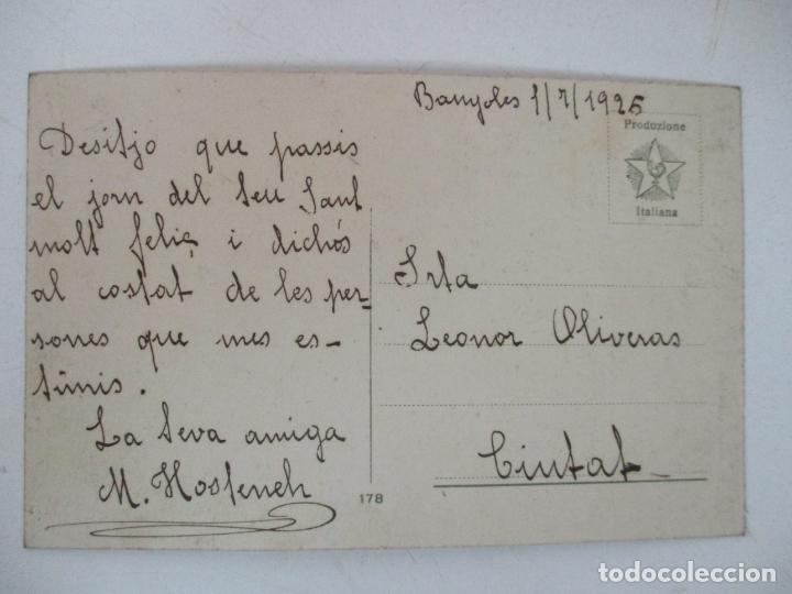 Postales: Postal del Cuadro - Barcas en el Mar - D. Furia - Italia - Año 1925 - Foto 2 - 155729234