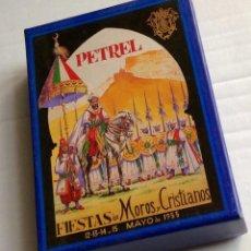 Postales: COLECCIÓN COMPLETA DE 48 CARTELES MOROS I CRISTIANS PETRER.1954_2003 TAMAÑO POSTAL. Lote 155746858