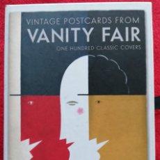 Postales: VANITY FAIR COLECCION DE 100 POSTALES CON PORTADAS - MODERNISMO ART-DECO. Lote 155750902