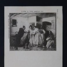 Postales: POSTAL ARTE PINTURA FERRANDIZ EL RECIEN NACIDO . 562 LAURENT AÑO 1899 O ANTERIOR .. Lote 156635410