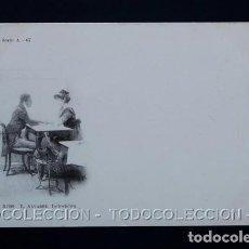 Postales: POSTAL ARTE PINTURA L. ALVAREZ INDECISION . 3009 LAURENT AÑO 1899 O ANTERIOR .. Lote 156635906