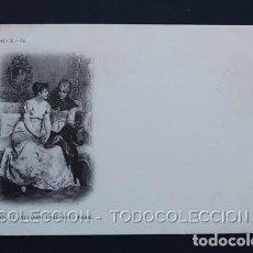 Postales: POSTAL ARTE PINTURA L. ALVAREZ CONFESION A MAMA . 3008 LAURENT AÑO 1899 O ANTERIOR .. Lote 156636734