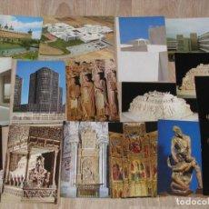 Postales: LOTE DE 54 POSTALES DE COLECCIÓN POSTAL-ARTE. ED. LA MURALLA. AÑOS 80.. Lote 156723062