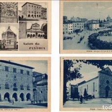 Postales: TOSCANA (ITALIA) - LOTE DE POSTALES DE PISTOIA Y POGGIBONSI + CARPETA DE FOTOS DE SAN GIMIGNANO. Lote 156809274