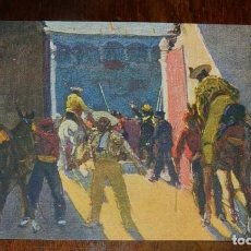 Postales: MARIANO BERTUCHI, TOROS, EDIT. N. COLL. SALIETI Nº 808 CABALLOS, SIN CIRCULAR. Lote 156813482