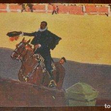 Postales: MARIANO BERTUCHI, TOROS, EDIT. N. COLL. SALIETI Nº 805 PIDIENDO LA LLAVE, SIN CIRCULAR. Lote 156820686
