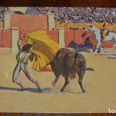 Postales: MARIANO BERTUCHI, TOROS, EDIT. N. COLL. SALIETI Nº 435 UN FAROL, SIN CIRCULAR. Lote 156821106