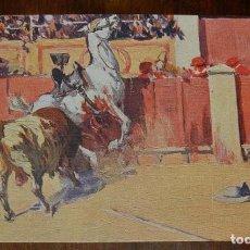 Postales: MARIANO BERTUCHI, TOROS, EDIT. N. COLL. SALIETI Nº 437 UN TORO CODICIOSO, SIN CIRCULAR. Lote 156821438