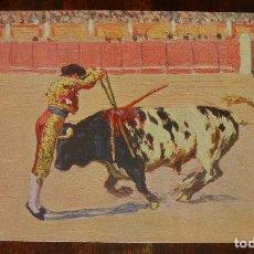 Postales: MARIANO BERTUCHI, TOROS, EDIT. N. COLL. SALIETI Nº 438 UN PARA DE FRENTE, SIN CIRCULAR. Lote 156821538