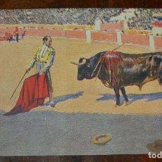 Postales: MARIANO BERTUCHI, TOROS, EDIT. N. COLL. SALIETI Nº 441 UN ADORNO, SIN CIRCULAR. Lote 156821974