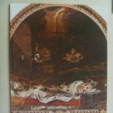 Postales: POSTAL DEL HOSPITAL DE LA CARIDAD ( SEVILLA ) : FINIS GLORIA MUNDIS, DE VALDES LEAL. Lote 156828430