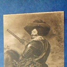 Postales: CONDE-DUQUE DE OLIVARES. VELÁZQUEZ. MUSEO DEL PRADO. HAUSER Y MENET.. Lote 157321422