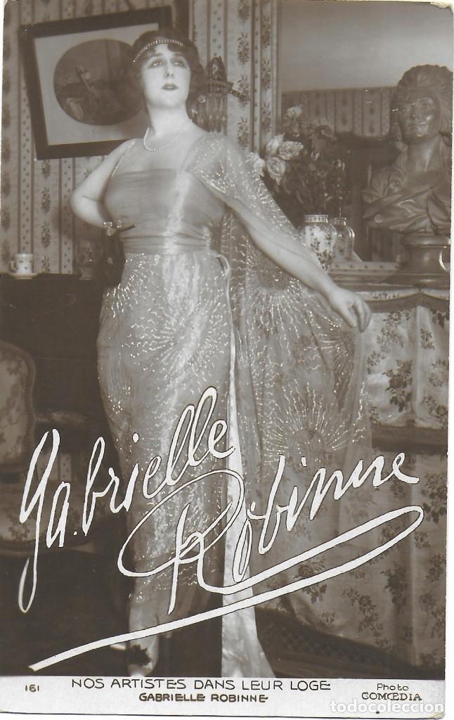 P- 9166. POSTAL ARTISTA GABRIELLE ROBINNE. PHOTO COMEDIA. (Postales - Postales Temáticas - Arte)