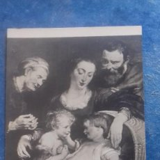 Postales: RUBENS. SACRA FAMIGLIA /SAGRADA FAMILIA. GALERÍA PITTI, FLORENCIA, 756. SIN EDITOR. SIN CIRCULAR.. Lote 158653878