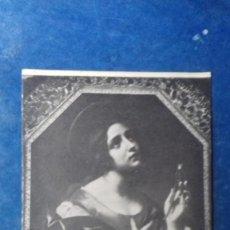 Postales: DOLCI. S. APOLLONIA. GALLERIA NAZIONALE D´ARTE ANTICA, ROMA. ANDERSON, 55131. SIN CIRCULAR.. Lote 158757278