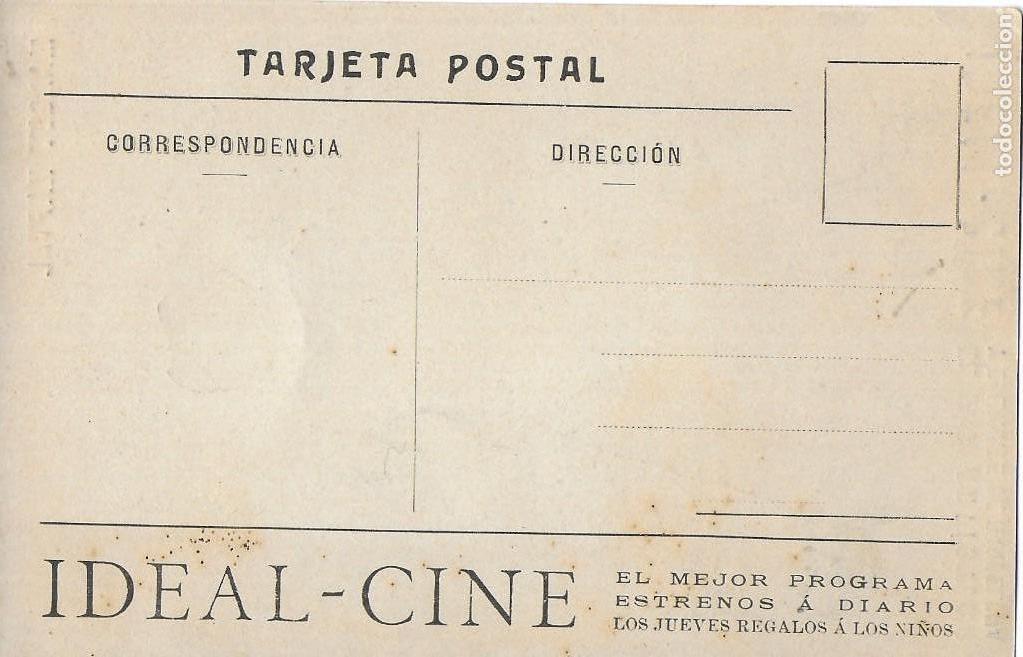 Postales: P- 9207. POSTAL IDEAL CINE, MARGOT KAFTAL. - Foto 2 - 159042414