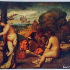 Postales: 9 ANTIGUAS POSTALES DEL MUSEO DEL LOUVRE. NUMERADAS. IMPRESOR: LAPINA. SIN USO.. Lote 159277702