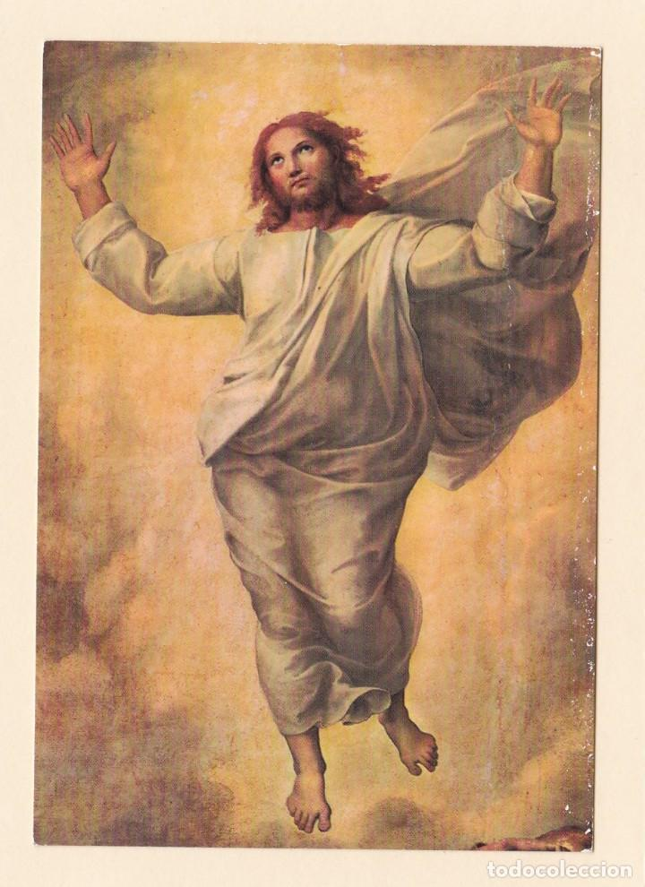 postal detalle cuadro la transfiguracion. rafae - Comprar Postales antiguas  de Arte en todocoleccion - 159440646