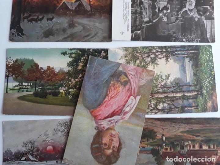 LOTE POSTALES PINTURA ARTE (Postales - Postales Temáticas - Arte)