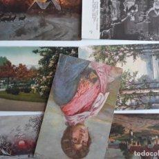 Postales: LOTE POSTALES PINTURA ARTE. Lote 159655518