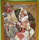 Postales: SERIE MODERNISTA Nº 2 FEBRERO. EDICIONES FISA. NUEVA. COLOR. Lote 160786512