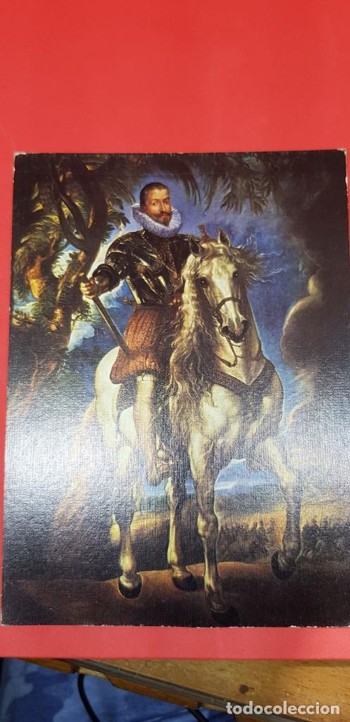 POSTAL RUBENS MUSEO DEL PRADO 'EL DUQUE DE LERMA' (Postales - Postales Temáticas - Arte)