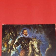 Postales: POSTAL RUBENS MUSEO DEL PRADO 'EL DUQUE DE LERMA'. Lote 161011390