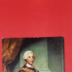 Postales: POSTAL MENGS MUSEO DEL PRADO 'CARLOS III'. Lote 161011610