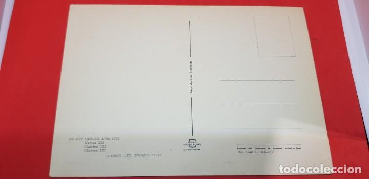 Postales: POSTAL MENGS MUSEO DEL PRADO CARLOS III - Foto 2 - 161011610