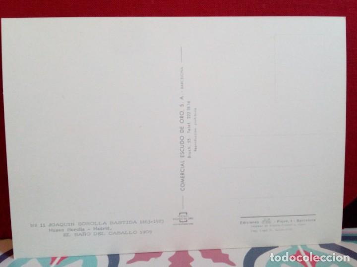 Postales: 20 POSTALES SOROLLA - CUADROS - ÓLEOS - (SIN CIRCULAR) REF: 81/101 - Foto 4 - 162096846