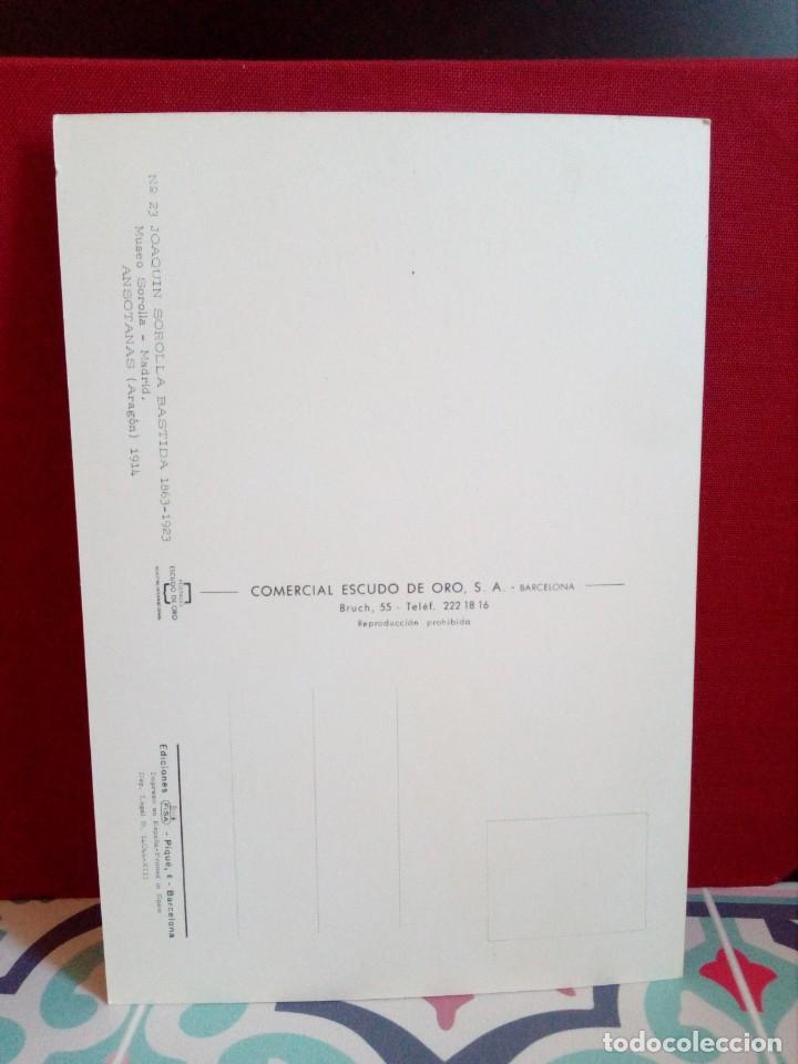 Postales: 20 POSTALES SOROLLA - CUADROS - ÓLEOS - (SIN CIRCULAR) REF: 81/101 - Foto 18 - 162096846