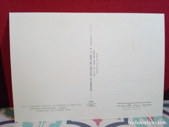 Postales: 20 POSTALES SOROLLA - CUADROS - ÓLEOS - (SIN CIRCULAR) REF: 81/101 - Foto 20 - 162096846
